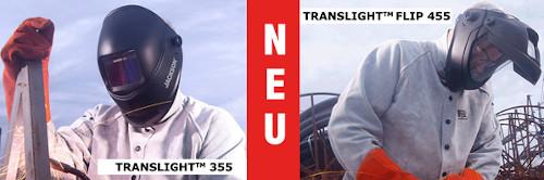Neue Schweißerschutz Helme TranslightSeries