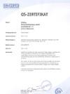 QS Zertifikat 2018