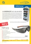 SINOstar Schutzbrillen