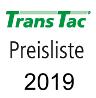 TransTac Preisliste 2019